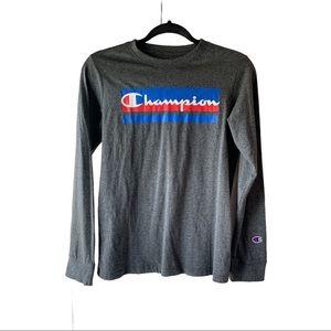 Boys long sleeve Champion shirt